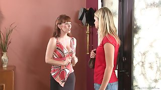 Heather Starlet and Rayveness party each other and lick pussies