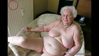Granny big tits